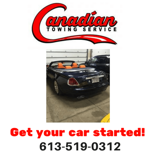 Canadian Towing Ottawa will get your car started