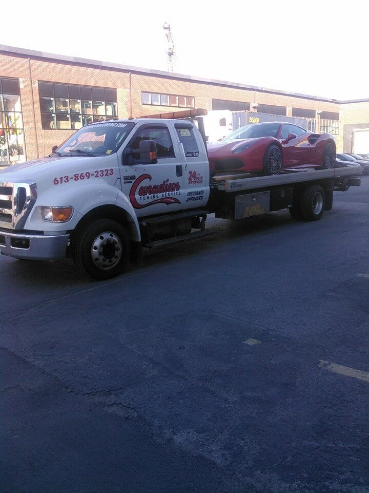 Flatbed Towing Service in Ottawa - Call 613-519-0312